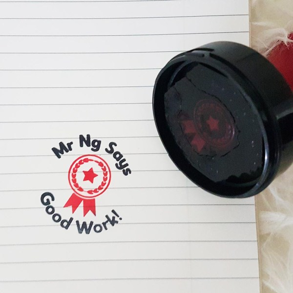 customised teacher stamps singapore - Teacher's Day Gift