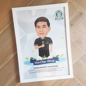 Caricature Drawing Singapore | Farewell Wedding Anniversary Birthday Prints