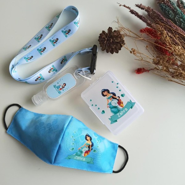 Personalised Mask Singapore | Customised Antibacterial Mask Set