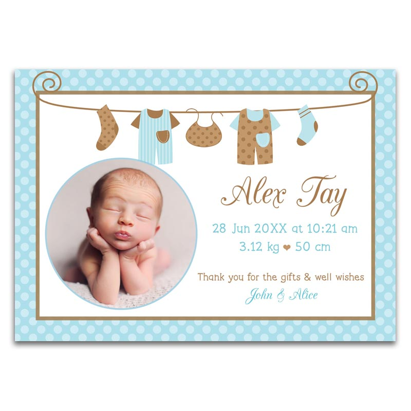 Baby Full Month Cards Singapore