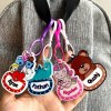 Customised 3D Acrylic Bag Tags SIngapore