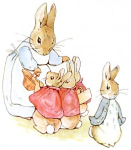 Image result for peter rabbit and mom