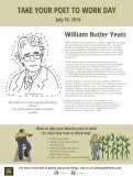 Take Your Poet to Work Day - WB Yeats