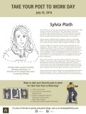 Sylvia Plath Take Your Poet to Work Day Printable