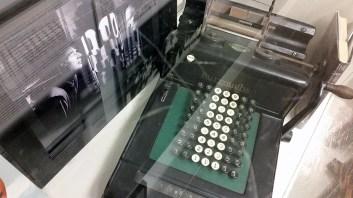 beat museum typewriter