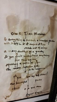 Poem by Harold Norse