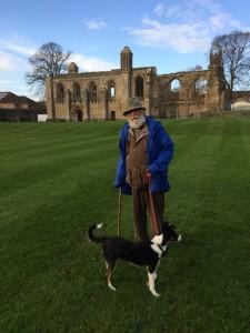 Abbey at Glastonbury