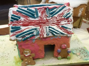 British Gingerbread house