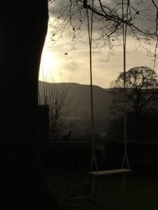 A church swing in Derbyshire.