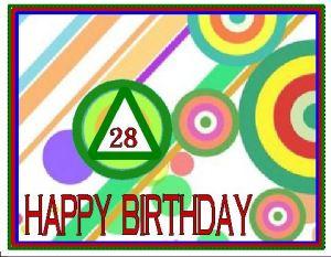 Birthday 28 Year AA Card Target