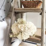 Diy Farmhouse Nightstand From A Ladder Trash To Treasure