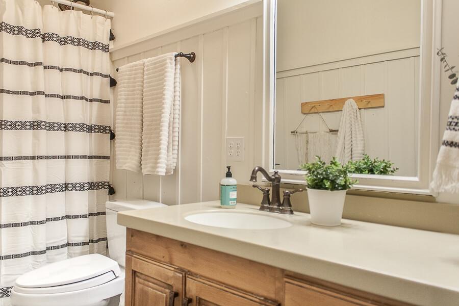 5 Inexpensive Ways to Update Any Bathroom Decor - Twelve ... on Main Bathroom Ideas  id=82856