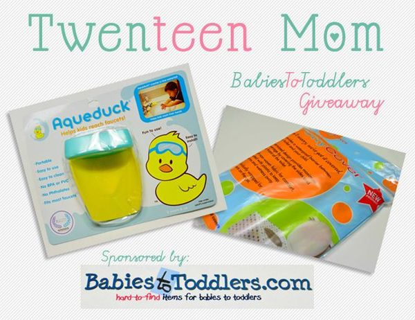 Babies To Toddlers Giveaway Winners