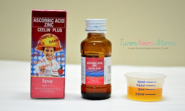 Growing Kids Take Ceelin Plus Syrup