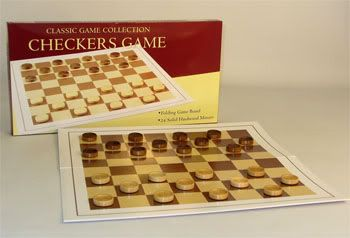 Family Board Games: Checkers