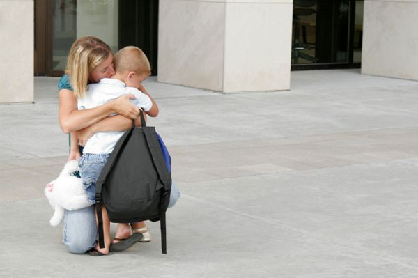 Handling Your Preschooler's First Day Blues
