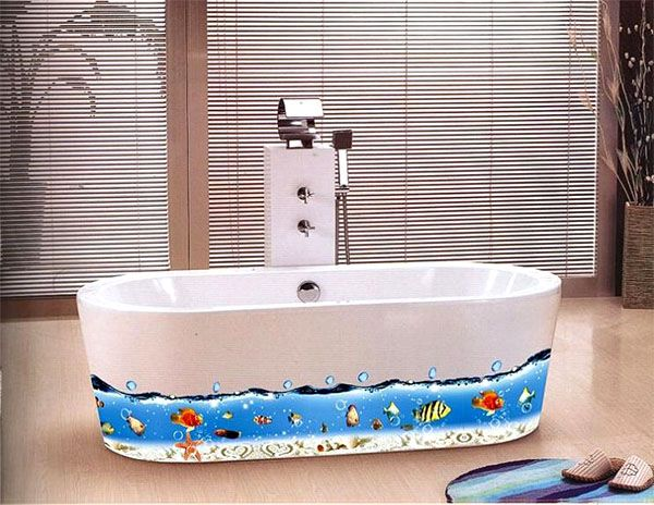 Pick The Right Wall Stickers For Bathroom And Design It The Way Want