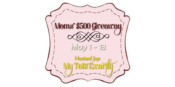 Moms' $500 Paypal Cash Giveaway Worldwide