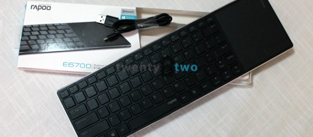 DAILY DRIVEN   The Rapoo E6700 Bluetooth keyboard