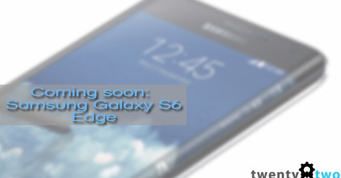 Samsung is making a Galaxy S6 with curved edges