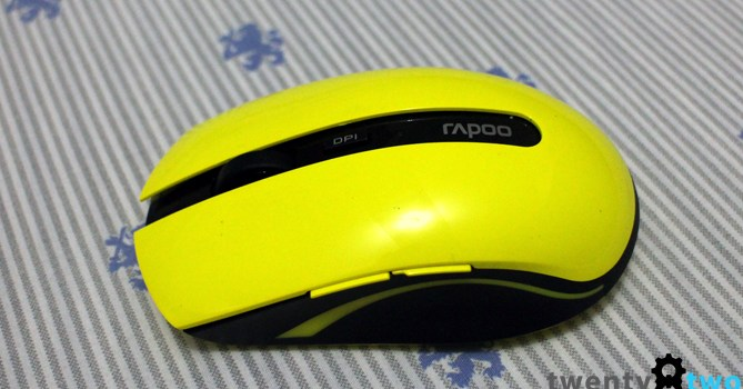 DAILY DRIVEN   Rapoo 7200P Wireless Optical Mouse