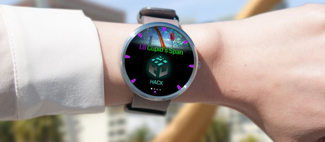 Ingress is coming for Android Wear very soon