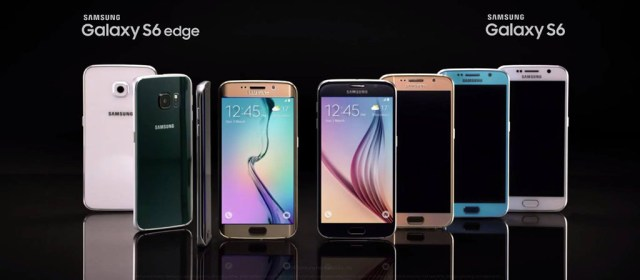 Samsung unleashes the Galaxy S6 and S6 Edge and they are gorgeous
