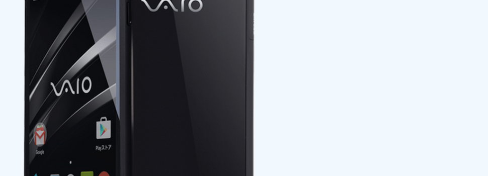VAIO launches its first smartphone