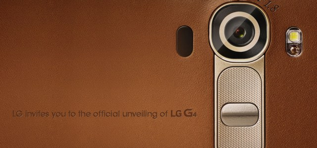 LG announces release date of the G4