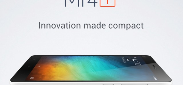 Xiaomi announces Mi4i, a Full HD, Snapdragon 615 smartphone