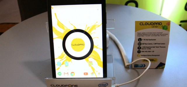 CloudFone unveils its new tablet, the One 7.0