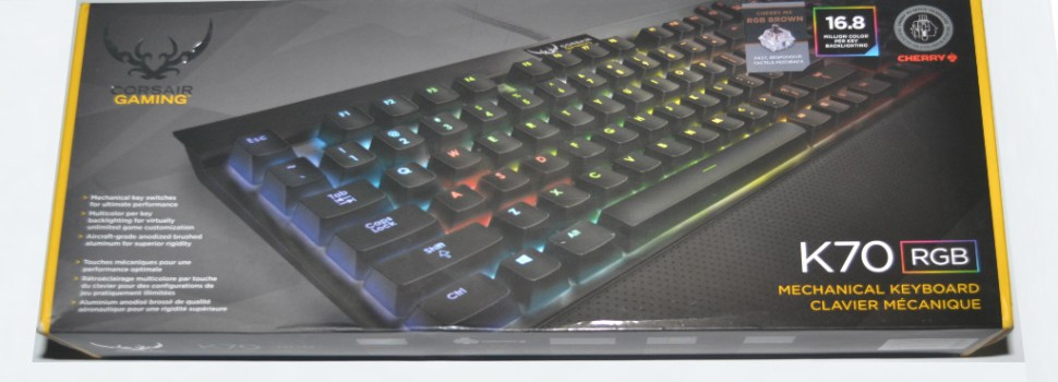 DAILY DRIVEN | Corsair K70 RGB