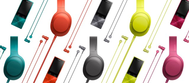 Sony unveils new line-up of personal audio devices