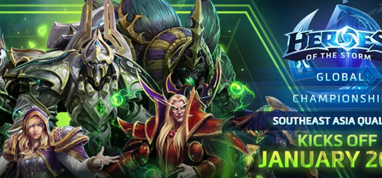 The Heroes of the Storm Global Championship Spring Season begins