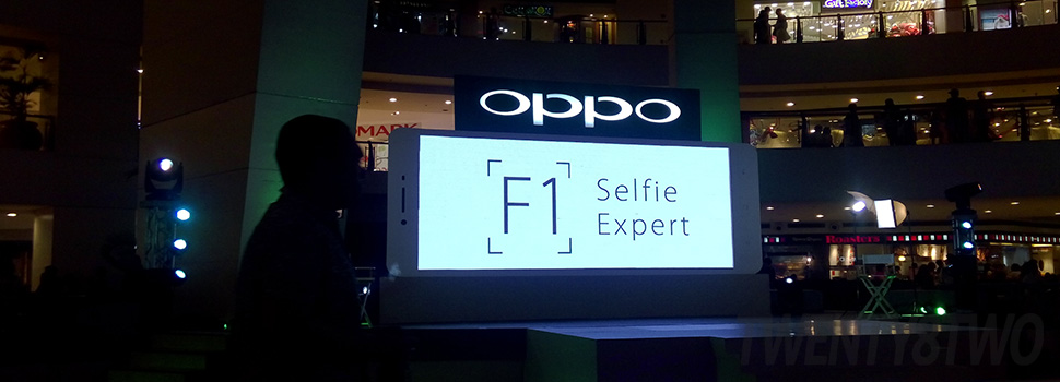 Selfie Experts; The Oppo F1 launch