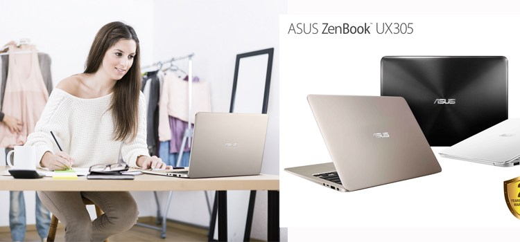 ASUS celebrates market leadership with the launch of the ZenBook UX305