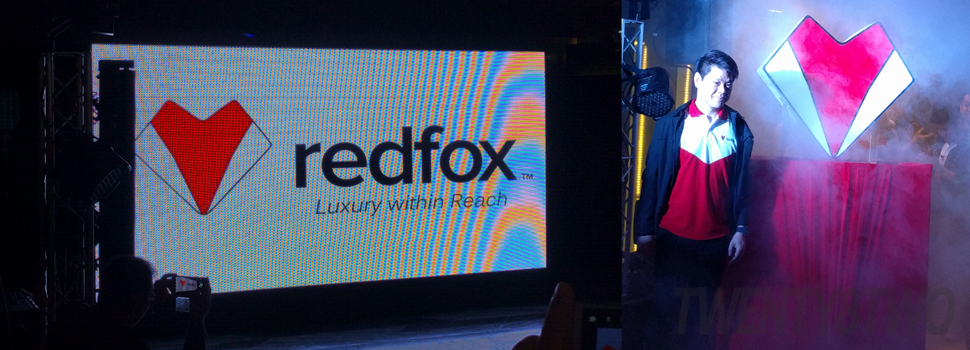 Redfox rebrands, unveils sleek new logo and products