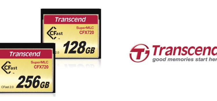 Transcend announces Industrial-Grade SuperMLC CFast 2.0 CFX720 Memory Cards