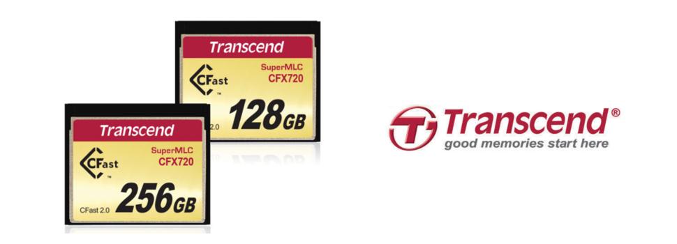 Transcend announces Industrial-Grade SuperMLC CFast 2.0 CFX720 Memory Cards
