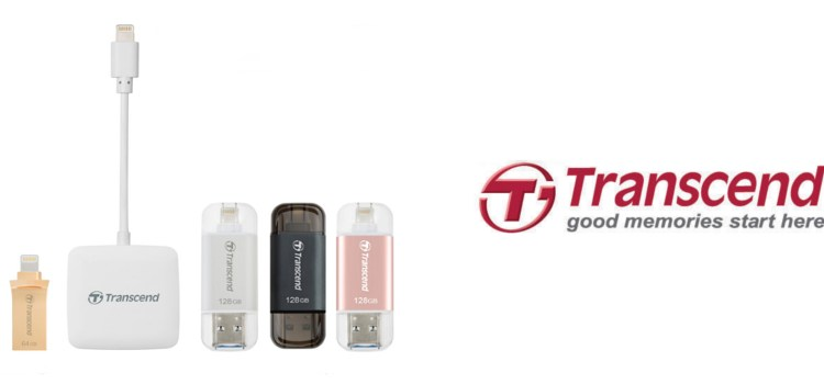 Transcend Launches a Complete Lightning Product Line-up for the Latest iOS Devices
