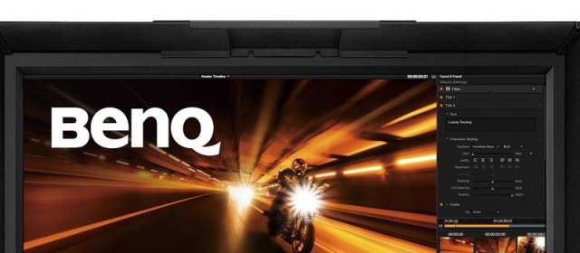 BenQ Reveals PV Series Video Post-Production Monitors