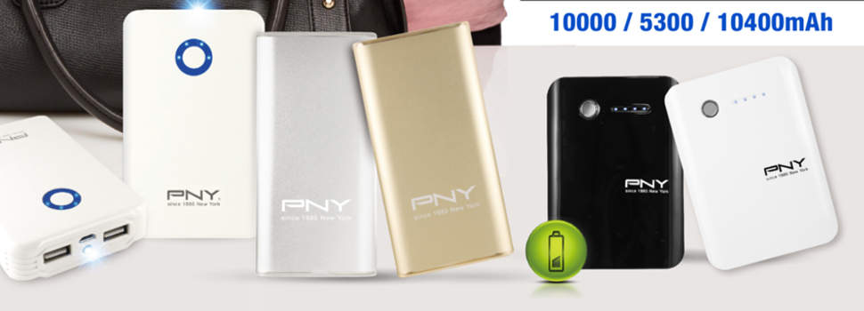 PNY releases three new Power Bank models in the Philippine Market