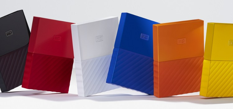 Western Digital unveils the redesigned My Passport and My Book hard drives