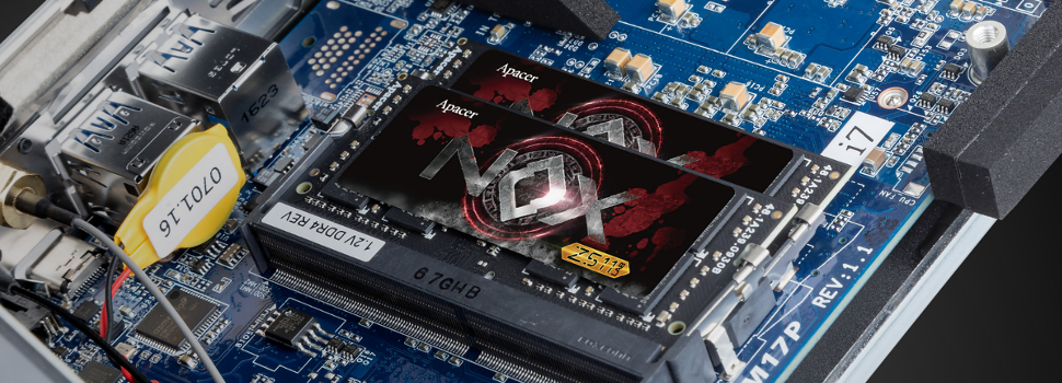 Apacer's NOX DDR4 SO-DIMM Memory gives performance leap to GIGABYTE's BRIX Gaming UHD