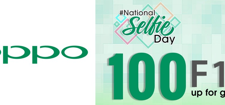 Oppo holds National Selfie Day Contest, 100 F1s units up for grabs