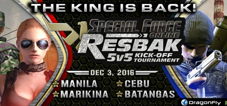 Special Force marks its return with the upcoming RESBAK 5v5 KICK-OFF Tournament