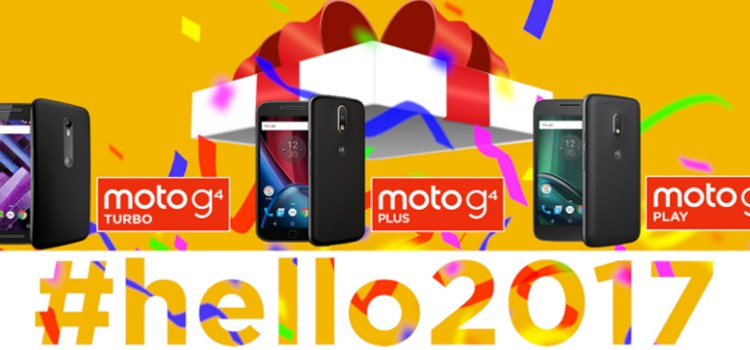 Set your #2017Goals on fire with Moto smartphones