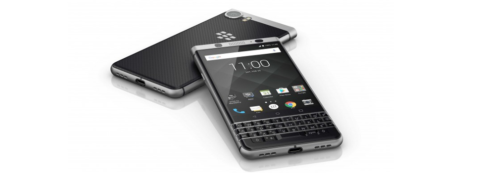 MWC 2017 | Blackberry reveals the KEYone
