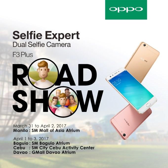 OPPO F3 Plus_Roadshow