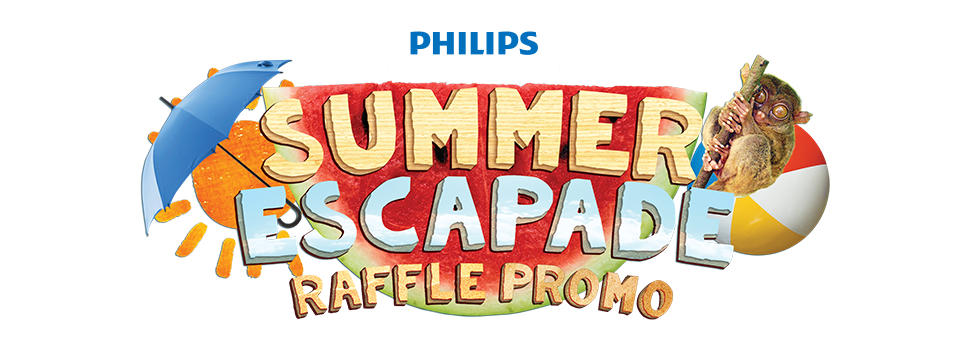 """Get a chance to win a summer outing for two with Philips' """"Summer Escapade"""" Raffle Promo"""